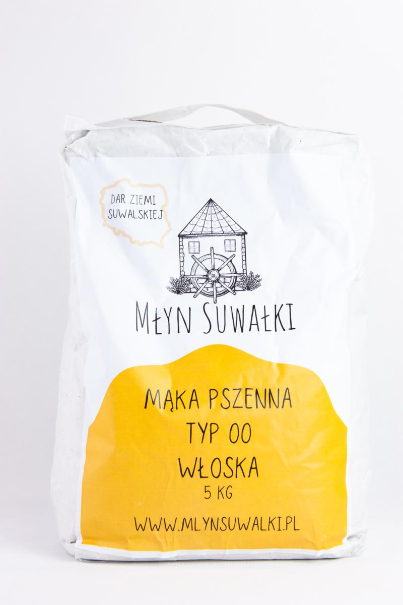 Mąka pszenna TYP 00 WŁOSKA na PIZZE – 5kg