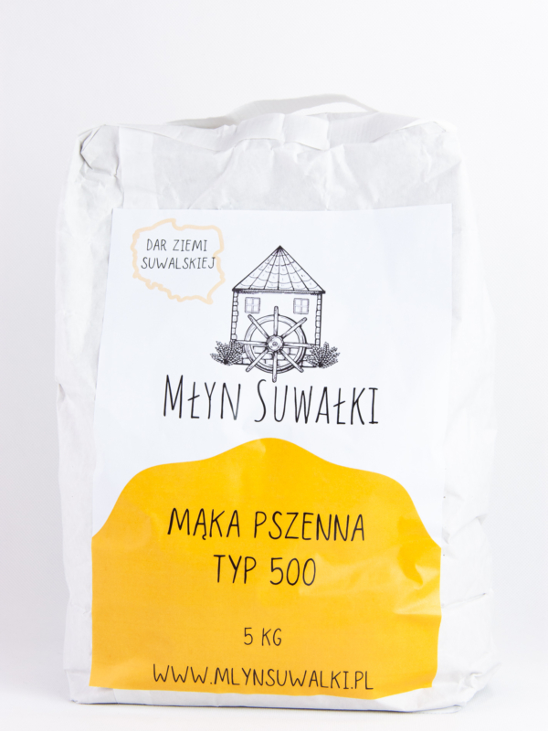 Mąka pszenna TYP 500 - 5kg
