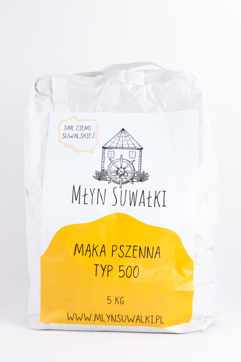 Wheat flour TYPE 500 - 5kg