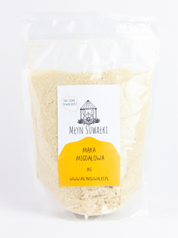 Mąka MIGDAŁOWA migdały mielone mączka 1kg