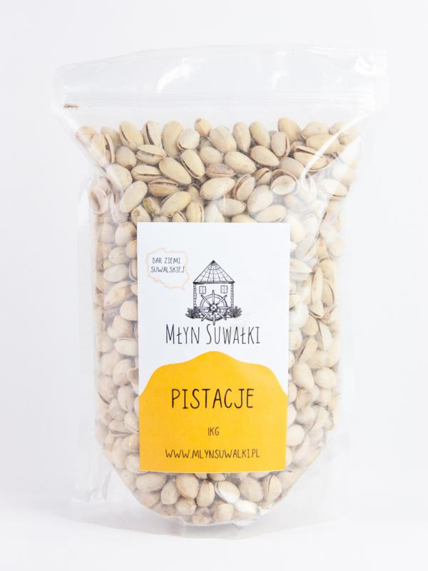 PISTACJE PRAŻONE orzechy pistacjowe solone 1kg