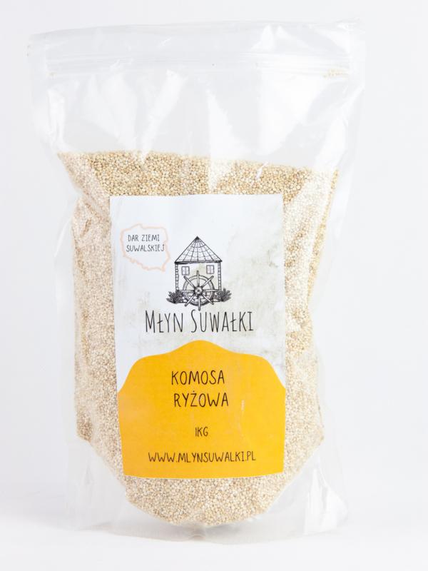 QUINOA Komosa ryżowa biała BIAŁKO JAKOŚĆ 1KG