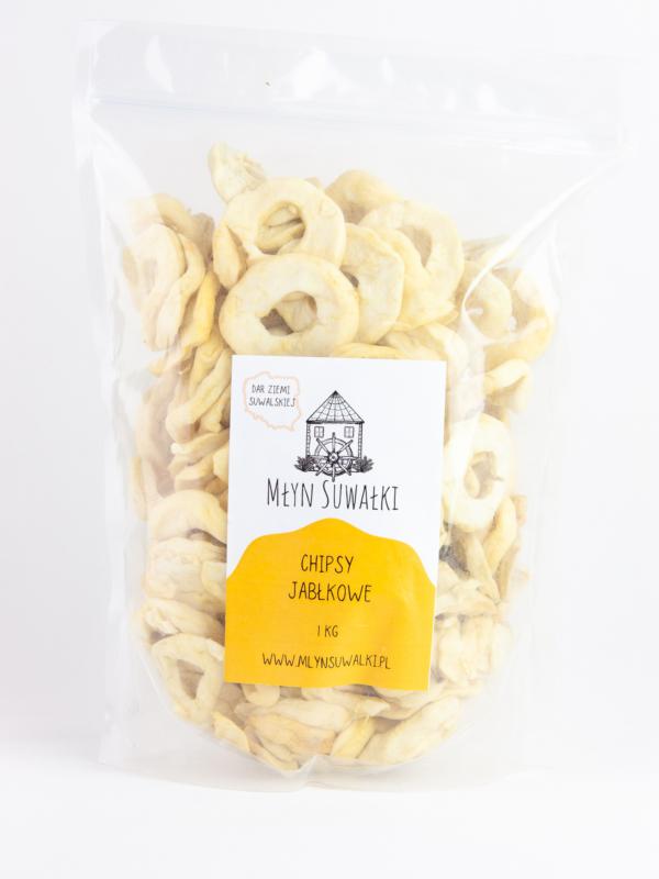 JABŁKO SUSZONE chipsy jabłkowe POLSKIE 1kg