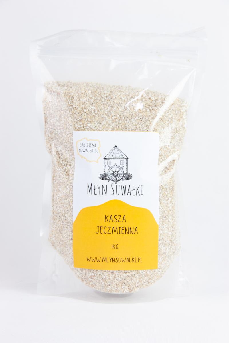 Kasza JĘCZMIENNA Wiejska wysoka jakość 1kg