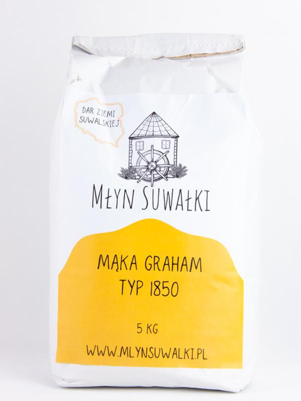 Mąka ORKISZOWA TYP 1850 GRAHAM pełnoziarnista 5kg