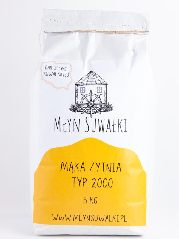 Mąka żytnia TYP 2000 5kg