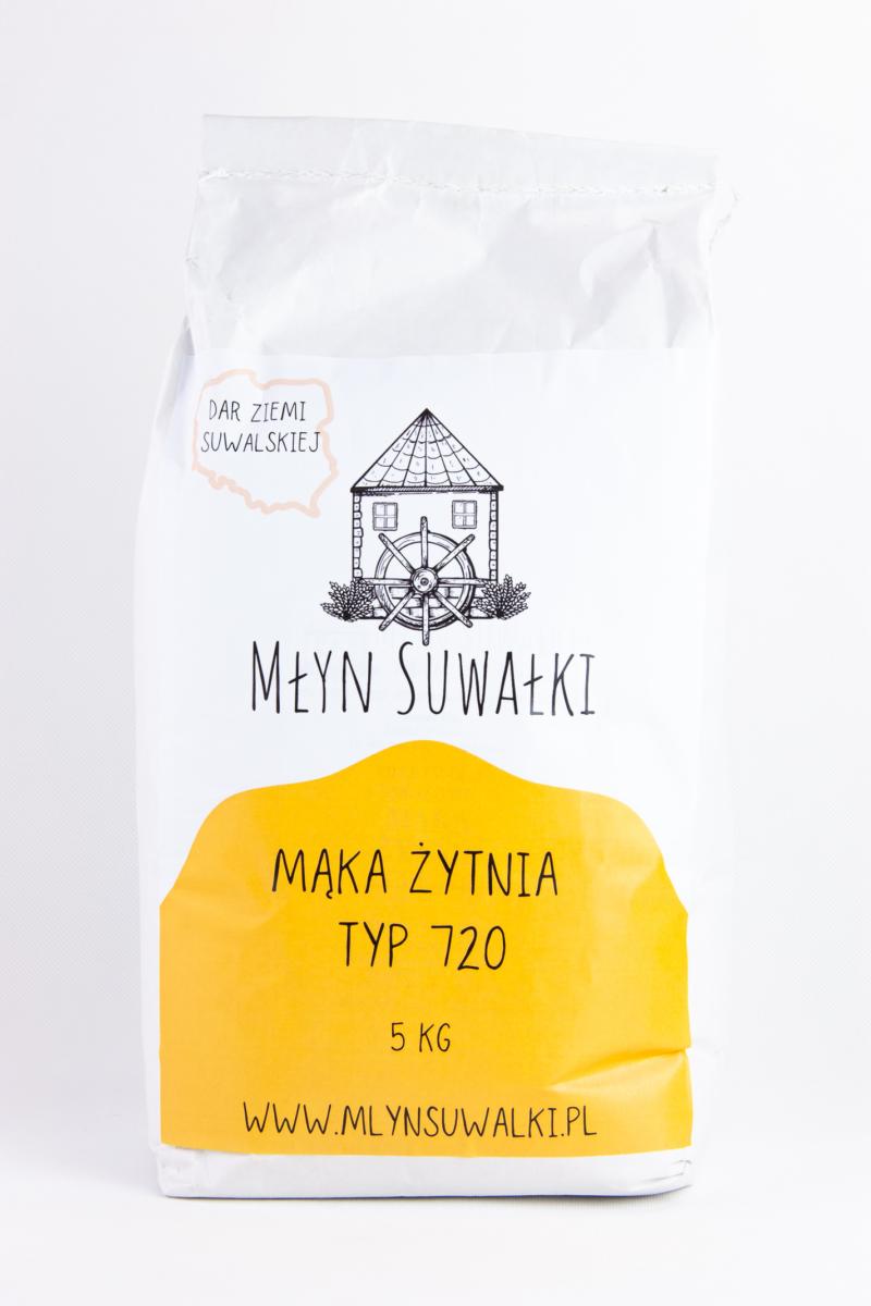 Mąka żytnia TYP 720 5kg chlebowa pytlowa