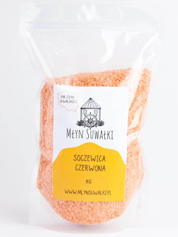 SOCZEWICA CZERWONA naturalna 1kg